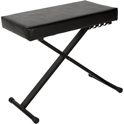 Best Price Musician's Gear Deluxe Keyboard Bench