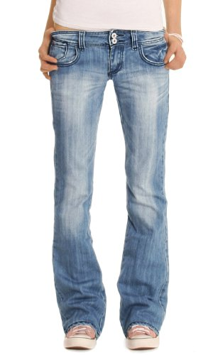 Bestyledberlin Jeans Donna, Bootcutjeans j06x L