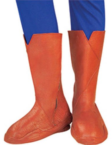 Superman Adult Deluxe Boot Tops Halloween Costume - Most Adults