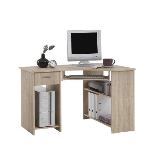 FMD Computer Desk Felix 1, 118.0 x 76.0 x 77.0 cm, Oak