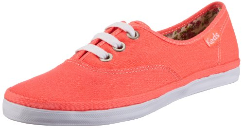 Keds Rookie Neon Trainers Womens Orange Orange (neon coral normal) Size: 4.5 (37.5 EU)