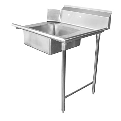 "Allstrong Stainless Steel Soiled Dish Table 24""Lx 30""W Right Side.NSF DT24S-R"