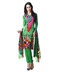 Inddus Women Crepe Dress Material (Ind-Kc-9004 _Multi-Coloured)