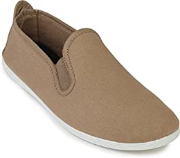 Scentra Mens Canvas Moccasins MMBGS