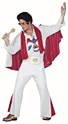 Adult Deluxe White Elvis Presley Costume