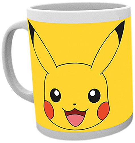 GB eye, Pokemon, pikachu, Tazza