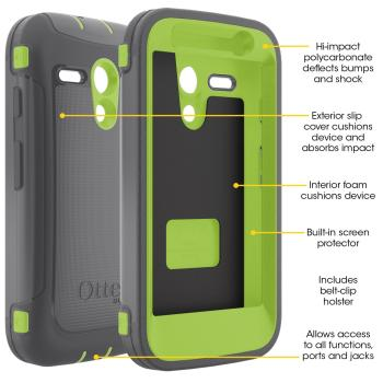 OtterBox Defender Series Case for Motorola Moto G. Motorola Moto G phone case