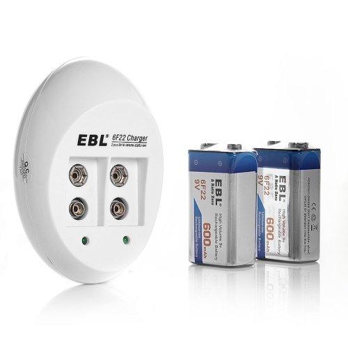EBL® 840 9V Li-ion Ni-MH Battery Charger