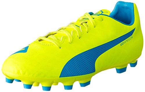 Puma EvoSpeed 5.4 AG Scarpa Calcio, Giallo, 11