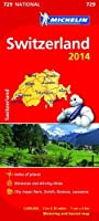 Switzerland 2014 National Map 729 (Michelin National Maps)