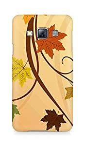 Amez designer printed 3d premium high quality back case cover for Samsung Galaxy A3 (Thanksgiving fall leaf)