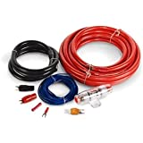 MTX ZN1K04 StreetWires 4 AWG Single Amplifier Installation Kit (Red)