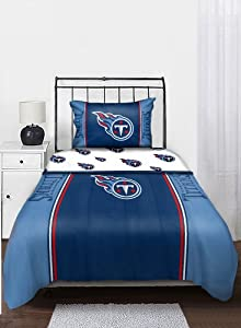 NFL Tennessee Titans Bedding Set, Twin by Northwest