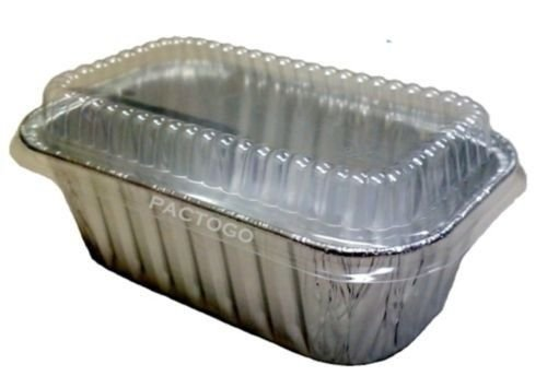 Handi-Foil 1 lb. Aluminum Foil Small Mini-Loaf Bread Pan w/Clear Dome Lid 6/Pk (pack of 6)