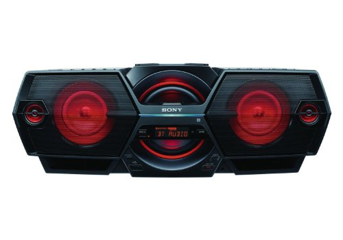 """Sony Bluetooth Nfc Wireless Xplod Boombox Powerful All-In-One Mega Bass Reflex Stereo Sound System With A Digital Tuner Am/Fm Radio, Usb Input, Mp3 Cd Player & Recorder, 2-Way Speakers, 5"""" Subwoofer, Light Sync, 30 Presets, Lcd Display, Auto Scan Tuning,"""