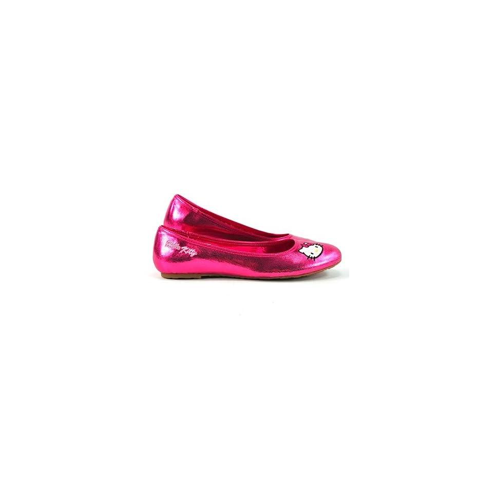Hello Kitty Ballerina LOVE HEART magenta  Schuhe