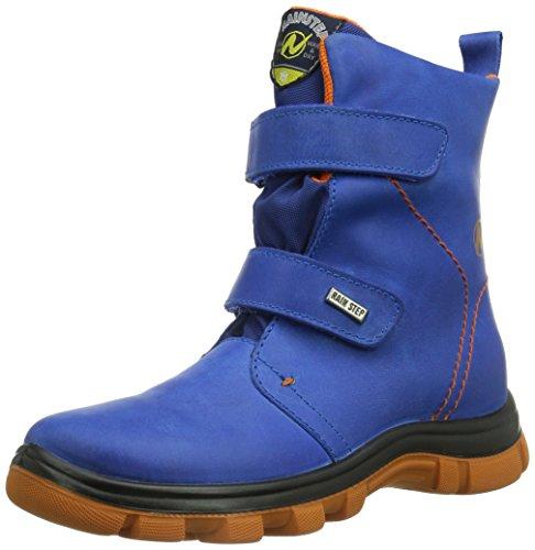 Naturino NATURINO LEEWARD, Stivali da neve con caldo rivestimento interno Bambino, Blu (Blau (9212Azzurro)), 35 (2.5 uk)