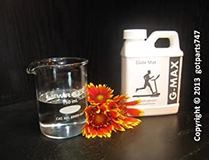 G-MAX Treadmill Lubricant (Silicone Oil)- 250 Ml (8.5 Oz) by Made in USA