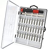 Anytime Tools 32 pc MICRO PRECISION SCREWDRIVER SET w/ T4 T5 T6 Mini Torx, Hex, Flat, Pozi