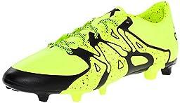 adidas Performance Men\'s X 15.3 Artificial Turf Soccer Shoe,Solar Yellow/Core Black/Frozen Yellow F15,9 M US