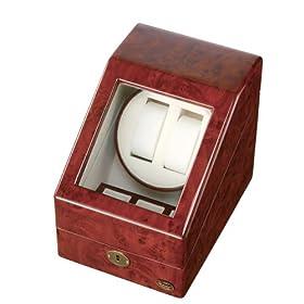 【クリックで詳細表示】[ローテンシュラガー]LUHW ワインディングマシーン 木製 2連 LU-20001RD