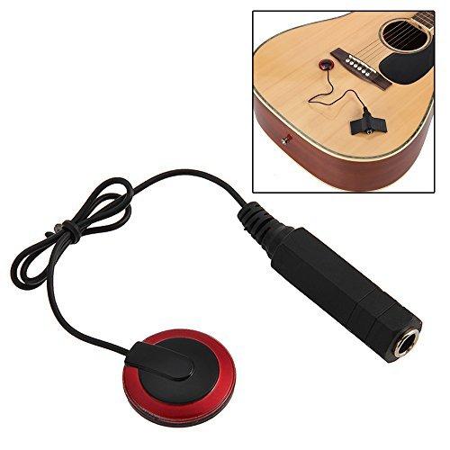 Foxpic Piezo Contact Microphone Pickup for Guitar Violin Ukulele Mandolin Benjo Oud Viola