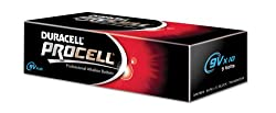 LINDY PP3' Type 9V Duracell Procell Batteries (Pack of 10) by LINDY