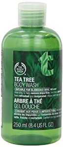 The Body Shop Tea Tree Body Wash, 8.4-Fluid Ounce
