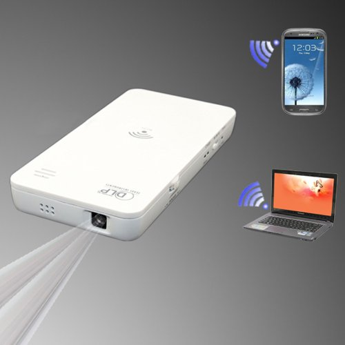 Wireless Wifi Mini Dlp Projector For Smartphone Iphone Sumsung Android 4.0 Above System Tablet Pc Laptop