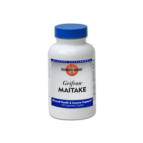 Maitake Products Mushroom Wisdom (Formerly Maitake Products) Grifron Maitake -- 120 Vegetarian ( Multi-Pack)