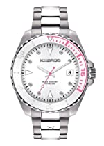 Hot Sale K&BROS Women's 9175-4 Steel Casual Watch