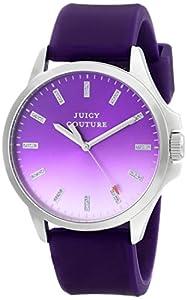 Juicy Couture Women's 1901165 Jetsetter Analog Display Quartz Purple Watch