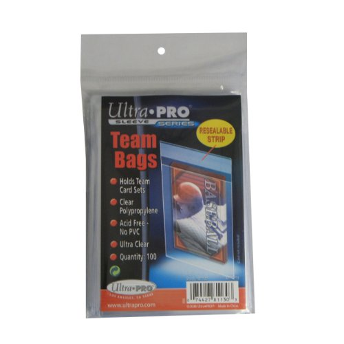 Ultra-Pro-UPSLTEAM-Card-Sleeves-Team-Bags-Resealable