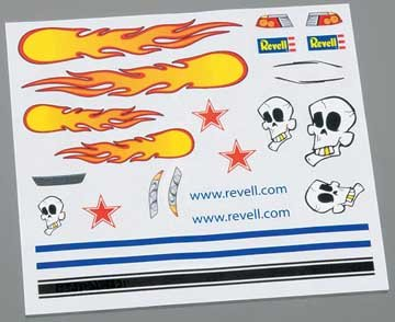 Revell Dry Transfer Decal C