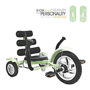 Mobo Mini Luxury Three Wheeled Cruiser, Green,