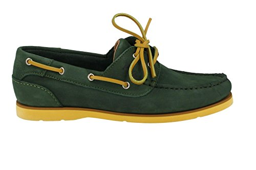 Scarpe da barca per gli uomini, color Verde , marca LUMBERJACK, modelo Scarpe Da Barca Per Gli Uomini LUMBERJACK HOLES Verde