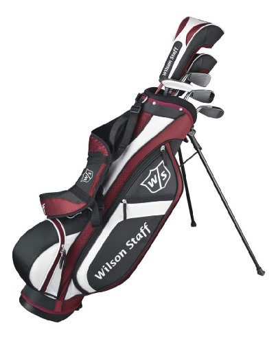 Wilson Staff FG Tour Junior Large 9-12 with Bag Unisex Child - Right Hand Uniflex