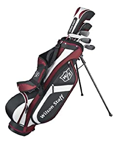 Wilson FG Tour 6-Piece Package Set (Junior, Ages 9-12, Right-Hand) by Wilson Golf