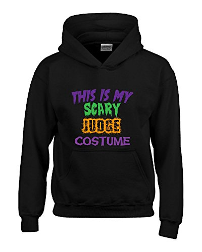 This Is My Scary Judge Halloween Costume - Hoodie