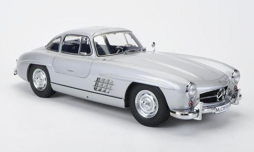Imagen principal de Mercedes 300 SL (W198), plateado, Interieurfarbe: azul, modelo especial MCW, limitado Edición 500 StÃŒck , Modelo de Auto, modello completo, Premium ClassiXXs 1:12