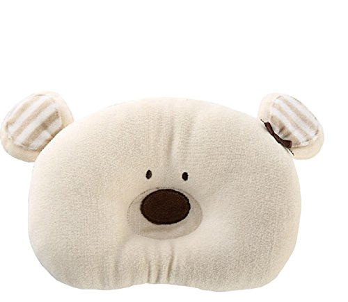 Cute Bath Pillow : Cute Soft Cotton Animal Shape Prevent Flat Head Support Sleeping Pillow For Newborn Baby Infant ...