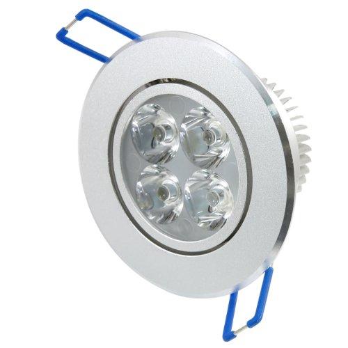 Lemonbest® Recessed Spot Light 12W Ac100~245V Led Ceiling Downlight Warm White Pack 10