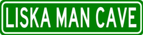 liska-man-cave-sign-personalized-aluminum-last-name-street-sign