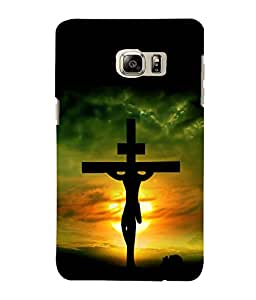 printtech Holy Cross Jesus Back Case Cover for Samsung Galaxy S4::Samsung Galaxy S4 i9500