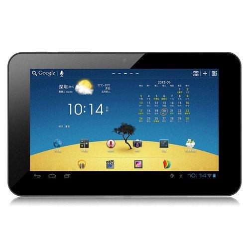 IPS液晶搭載タブレットPC  原道N70双擎 デュアルコア1024 x 600高画質 Googleプレイ対応Android 4.0.4搭載Rockchip RK3066, 1.6GHz, 7 インチ16GB