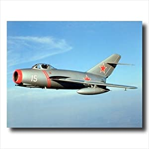 Russian Mig-15 Jet Airplane Wall Picture 16x20 Art Print