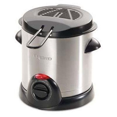 Presto 05470 Stainless Steel Electric Deep Fryer, Silver (Deep Fryers compare prices)
