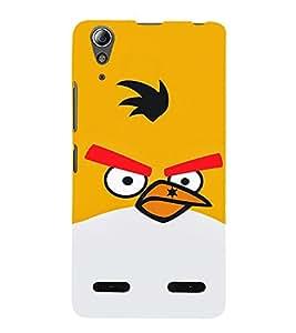 EPICCASE Mad Birds Mobile Back Case Cover For Lenovo A6000 (Designer Case)