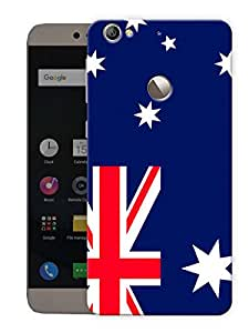 "Humor Gang Australian Flag Printed Designer Mobile Back Cover For ""Letv Le 1S"" (3D, Matte, Premium Quality Snap On Case)"