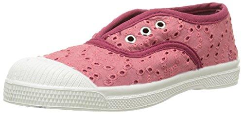 Bensimon - Elly Broderie Anglaise, Scarpe da ginnastica Unisex - Bambini, Rosa (Pink (410 Rose)), 34 EU